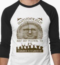 Summerisle May Day Festival 1973 Men's Baseball ¾ T-Shirt