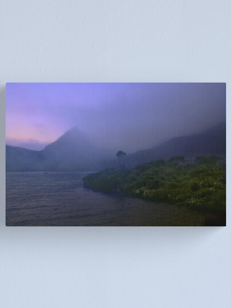Alternate view of Dawn at Dove Lake Canvas Print