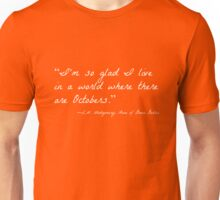 Octobers (Anne of Green Gables) Unisex T-Shirt