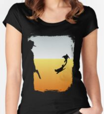 ...And the Gunslinger followed Women's Fitted Scoop T-Shirt