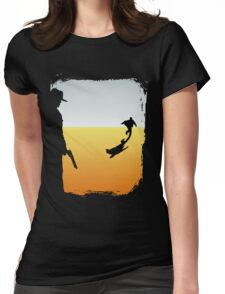 ...And the Gunslinger followed Womens Fitted T-Shirt