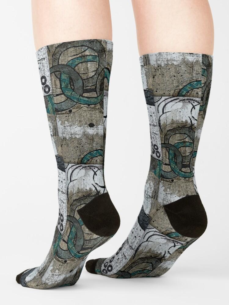 Alternate view of Curious Bonds Socks