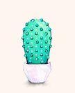 Geometric Cactus by Annya Kai