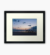 Sea shore Tel Aviv Framed Print