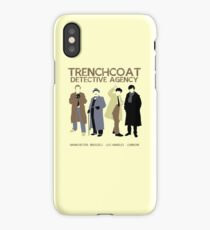 Trenchcoat Detective Agency iPhone Case/Skin