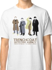 Trenchcoat Detective Agency Classic T-Shirt
