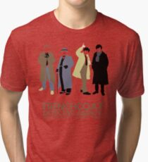 Trenchcoat Detective Agency Tri-blend T-Shirt