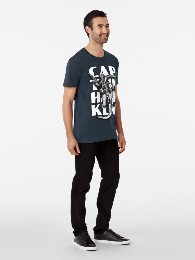Alternate view of Captain Hawklin Premium T-Shirt