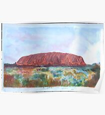 ULURU Ayers Rock,Austrailia. Poster