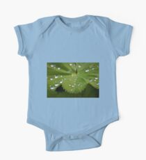 leaf and water drops  One Piece - Short Sleeve