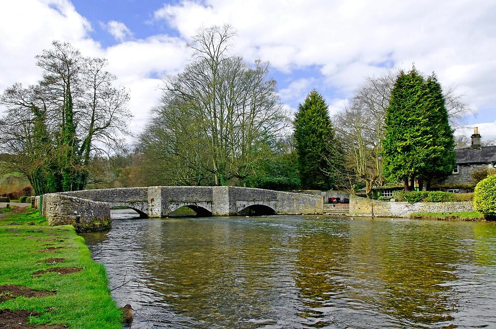 Sheepwash Bridge, Ashford-in-the-Water by Rod Johnson