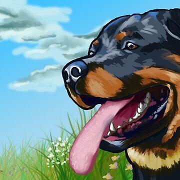 Rottweiler by AeriFaeri