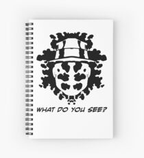 The Rorschach Test Spiral Notebook