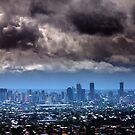 Storm over Brisbane by Peter Doré