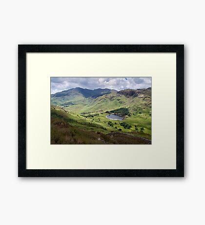 Little Langdale from Side Pike Framed Print