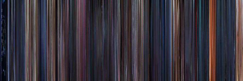 Moviebarcode: The Terminator (1984) by moviebarcode