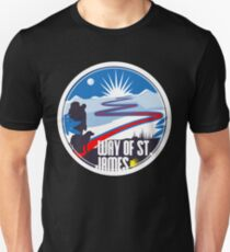 Camino de Santiago way of St. James Jakobs Weg Unisex T-Shirt
