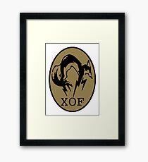 XOF  Logo Framed Print