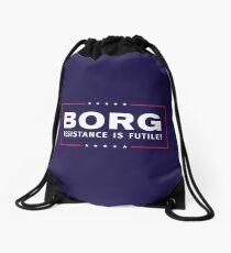 BORG - Resistance Is Futile! Drawstring Bag
