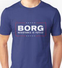 BORG - Resistance Is Futile! Slim Fit T-Shirt
