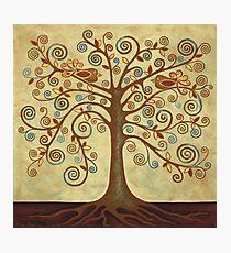 'Tree of Life' Acrylic Painting Photographic Print