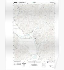 USGS Topo Map Oregon Coquille 20110826 TM Poster