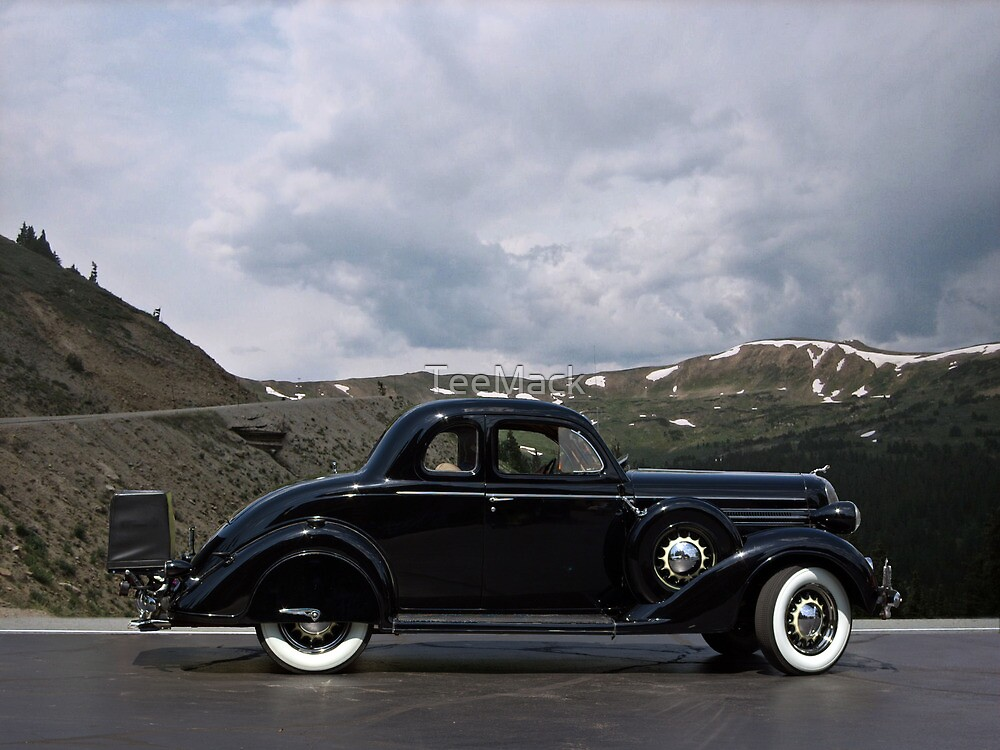 1936 Dodge D2 Rumble Seat Coupe by TeeMack