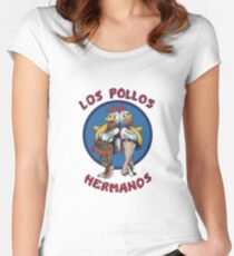 Breaking Hermanos Fitted Scoop T-Shirt