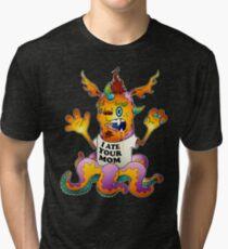 scary monster Tri-blend T-Shirt