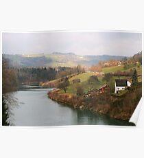 Landscape in Austria Poster
