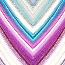 Pastel Glitter Watercolor  by savesarah
