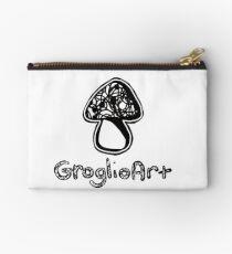 GroglioArt Mushroom Zipper Pouch