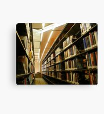 What are libraries for? Canvas Print