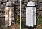 Old mile post - Kendal by Dave Lawrance