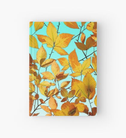 Maine Autumn Leaves Hardcover Journal