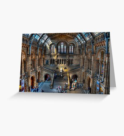 The Natural History Museum: London. Greeting Card