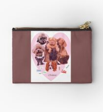 BREED OF DOGS Zipper Pouch