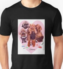 BREED OF DOGS Slim Fit T-Shirt