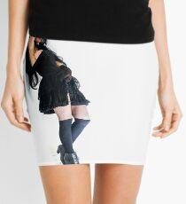 Life Flows Death Smiles 4 Mini Skirt