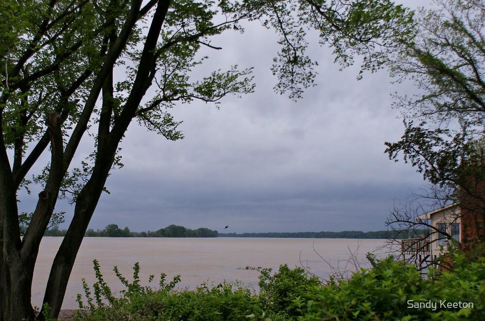 Ohio River  by Sandy Keeton