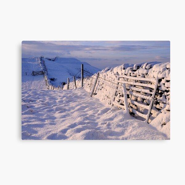 Winter on The Helm - Cumbria Canvas Print
