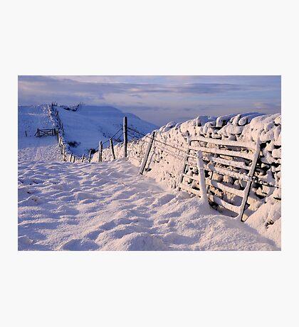 Winter on The Helm - Cumbria Photographic Print
