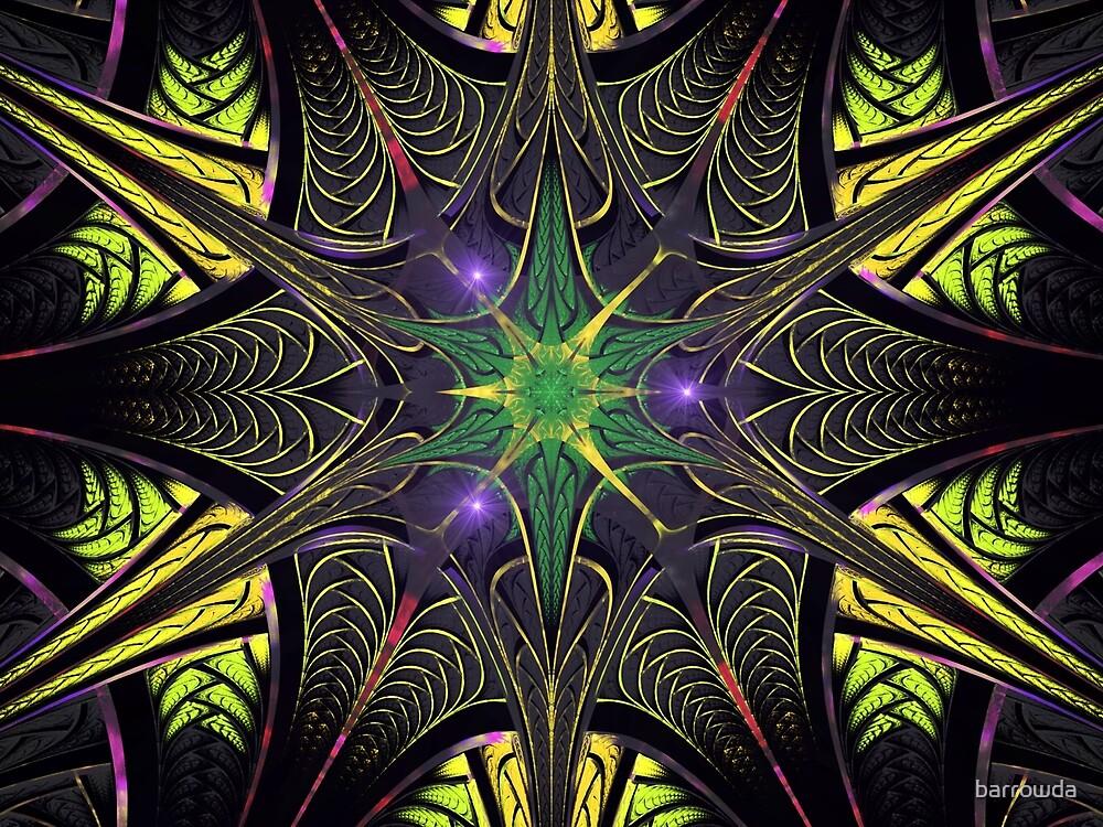 Elliptic Splits Dark Star  (UF0254) by barrowda