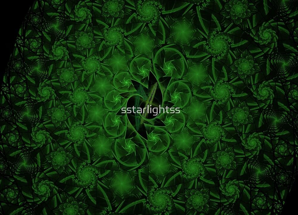 Escher Deep Green by sstarlightss