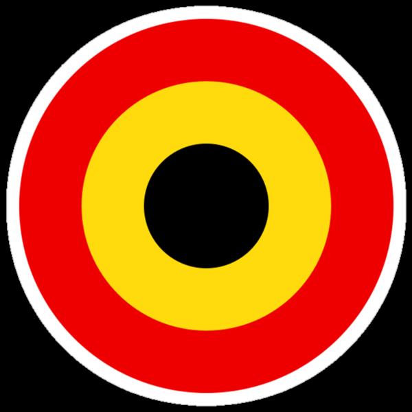 Belgian Air Force Insignia by warbirdwear