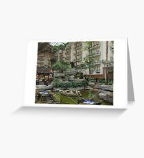 Gaylord Opryland Hotel - Dancing Water Greeting Card
