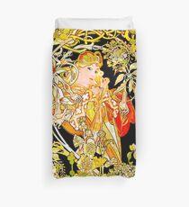 Mucha's Marguerite Bower Duvet Cover