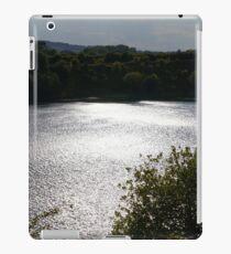 Sparkling sun in reflection iPad Case/Skin