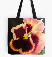 Pansy 'DeltaTapestry' Tote Bag