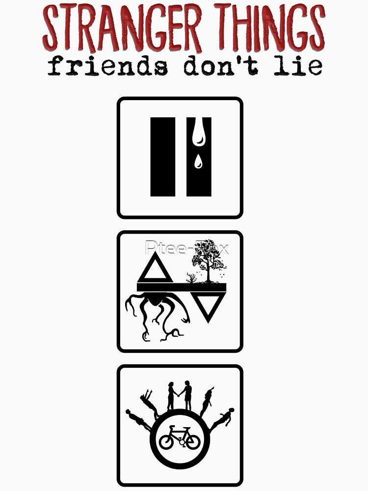 Stranger Things: Friends Don't Lie by Ptee-Rex